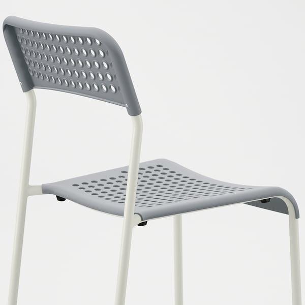 ADDE chair grey/white 110 kg 39 cm 47 cm 77 cm 39 cm 34 cm 45 cm