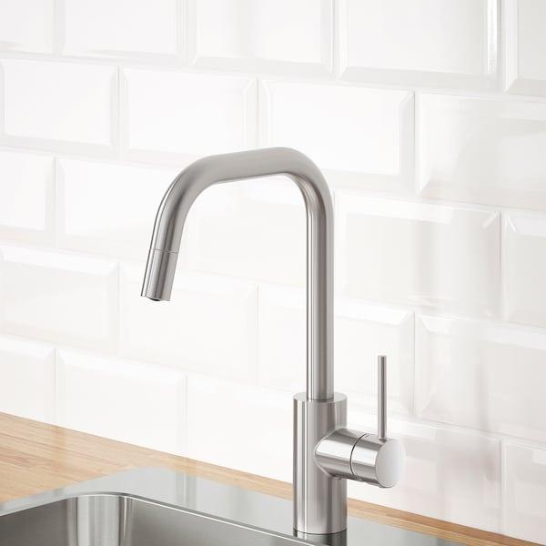 IKEA ÄLMAREN Kitchen mixer tap w pull-out spout