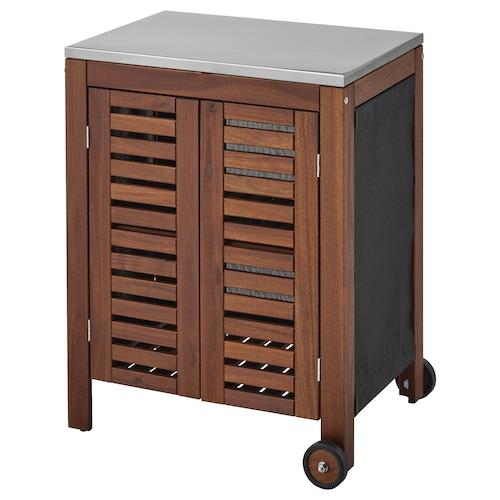 IKEA ÄPPLARÖ / KLASEN Storage cabinet, outdoor