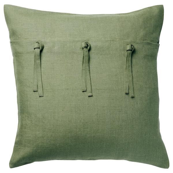 AINA cushion cover green 50 cm 50 cm