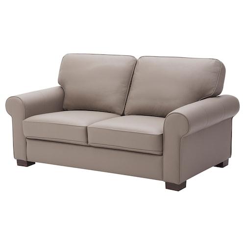 ÅKETORP 2-seat sofa Grann/Bomstad dark beige 89 cm 75 cm 174 cm 95 cm 6 cm 60 cm 130 cm 54 cm 44 cm