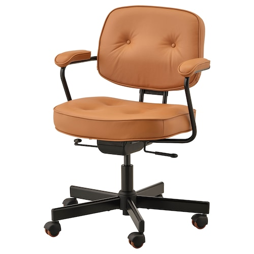ALEFJÄLL office chair Grann golden-brown 110 kg 64 cm 64 cm 95 cm 51 cm 42 cm 45 cm 56 cm