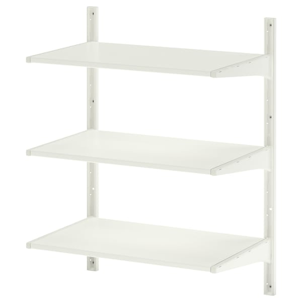 ALGOT wall upright/shelves white 65 cm 40 cm 84 cm