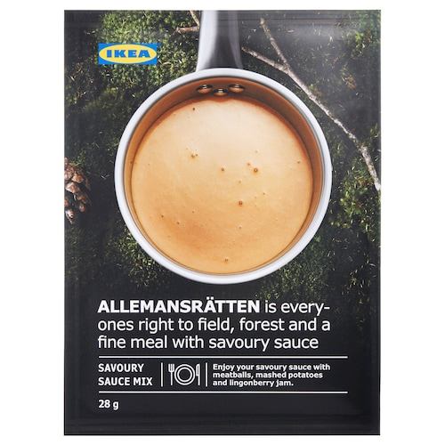 ALLEMANSRÄTTEN mix for cream sauce 28 g
