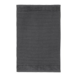 ALSTERN bath mat, dark grey