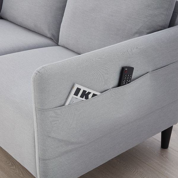 ANGERSBY 2-seat sofa, Knisa light grey