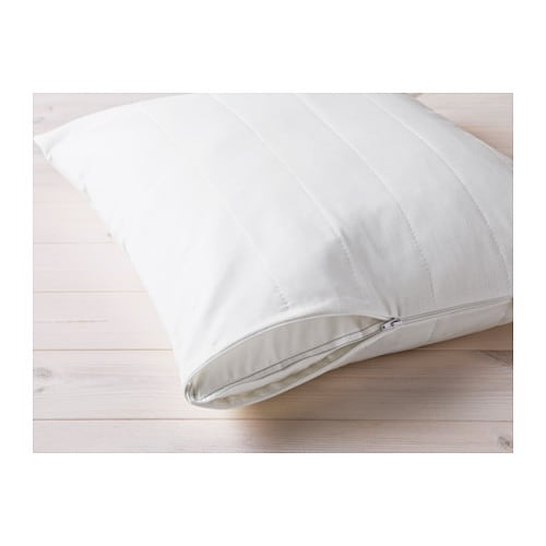 ÄNGSVIDE Pillow protector IKEA You can prolong the life of your pillow with a pillow protector against stains and dirt.