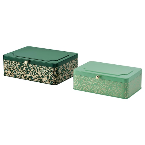 IKEA ANILINARE Decoration box, set of 2