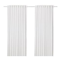 ANNALOUISA curtains, 1 pair, white