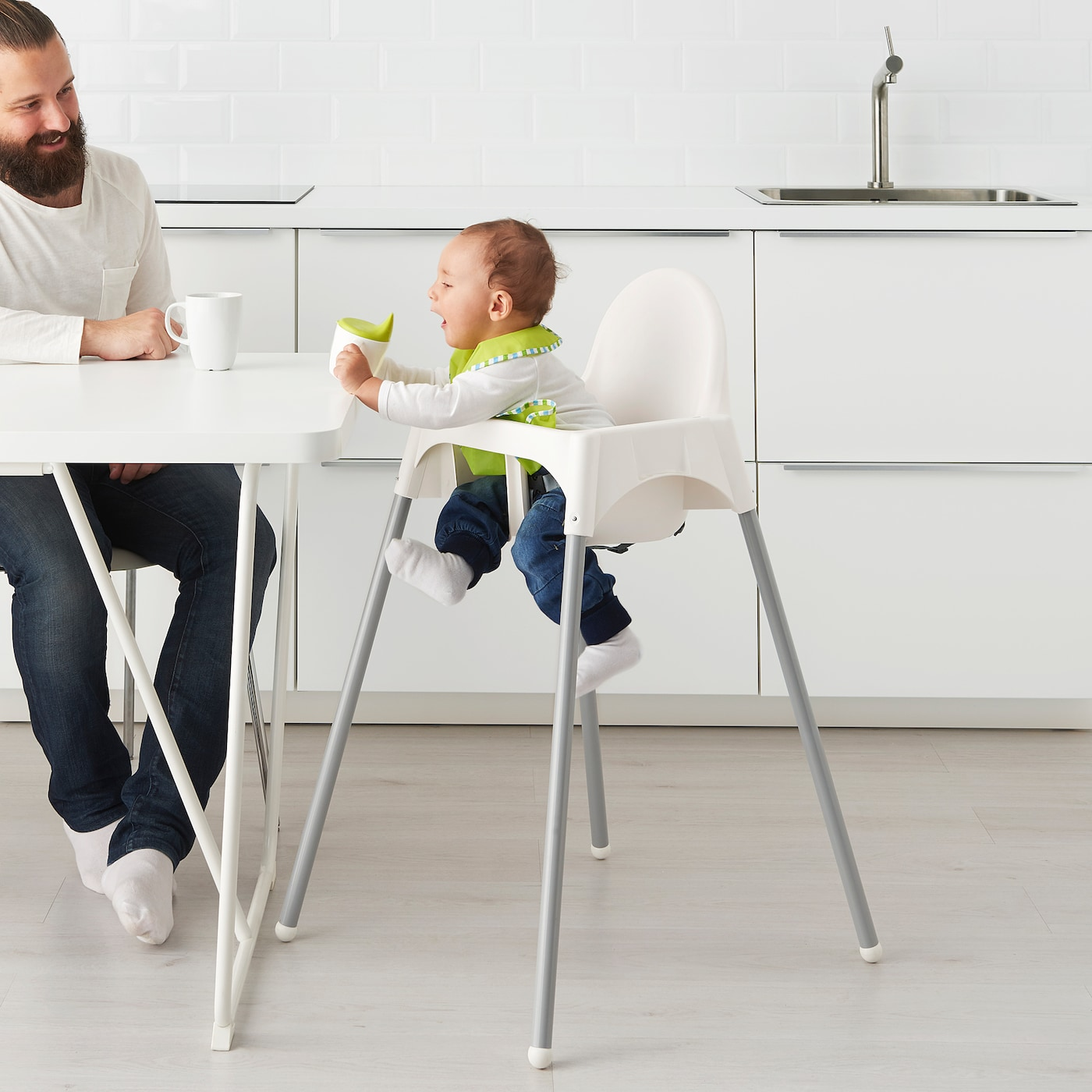 Antilop Highchair With Safety Belt