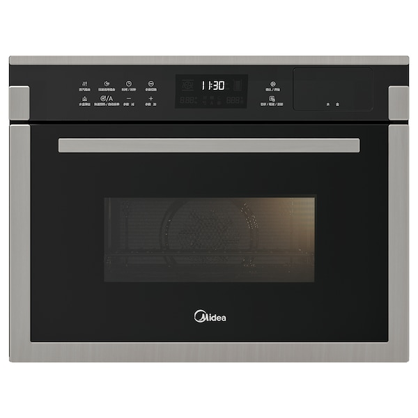 APTITRETARE TR934FMJ-SS Combination oven, black/stainless steel