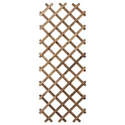 ASKHOLMEN Trellis, light brown stained