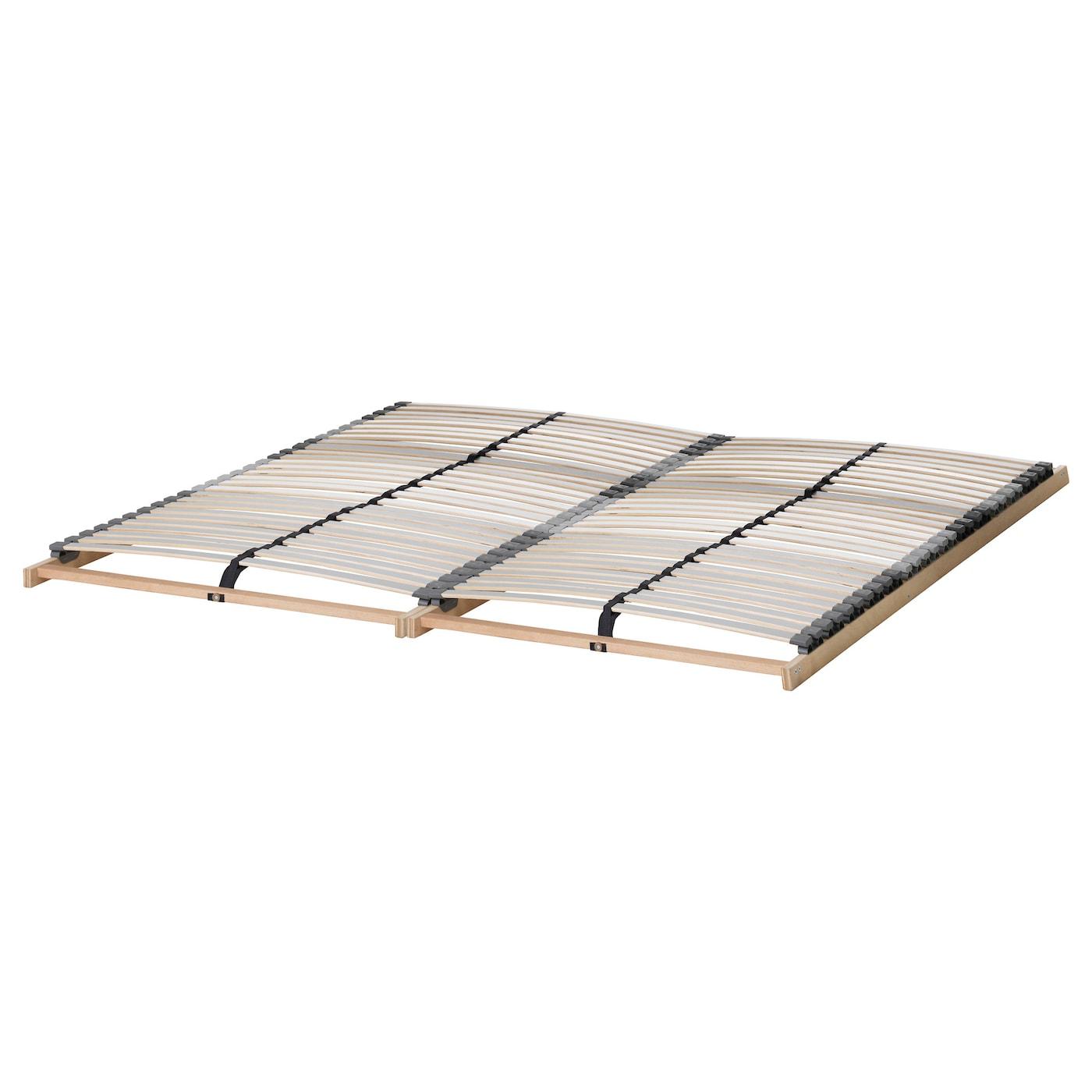 Askvoll Bed Frame White Lonset Ikea