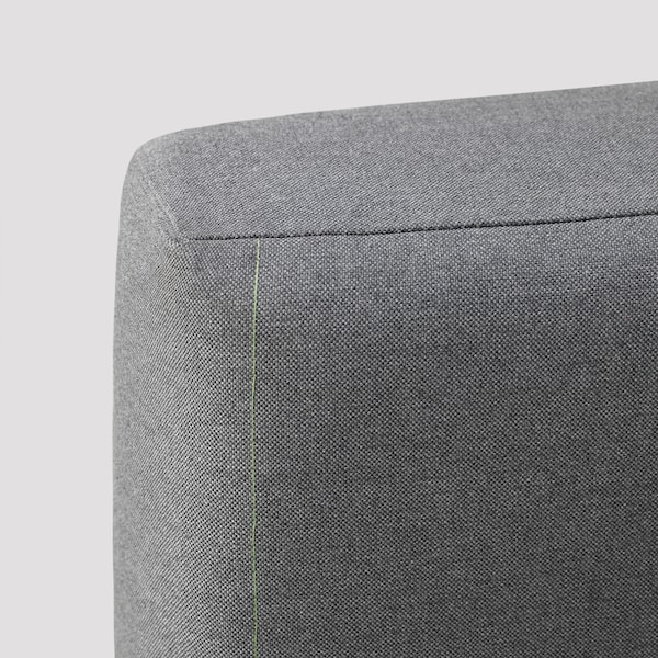 BÄCKEFORS Cover for 3-seat sofa-bed, Vissle grey