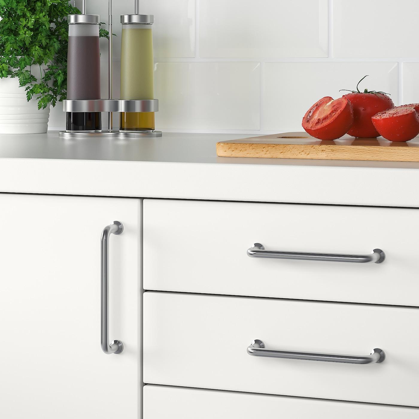Bagganas Handle Stainless Steel Ikea