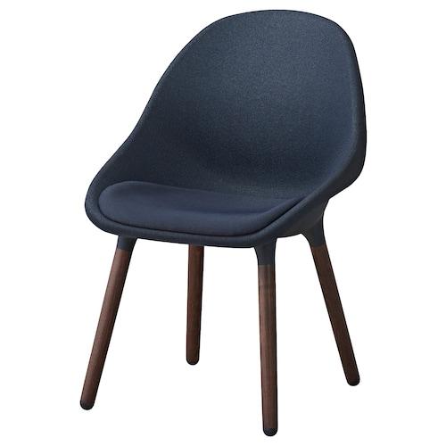 BALTSAR chair black-blue/brown 100 kg 58 cm 56 cm 85 cm 44 cm 44 cm 45 cm