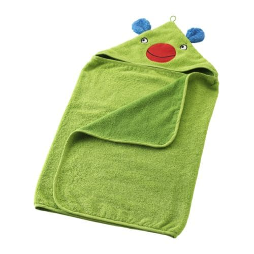 BARNSLIG Baby towel with hood IKEA