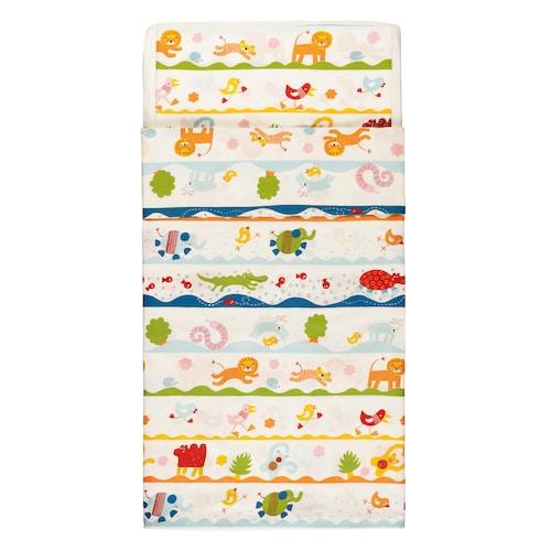 IKEA BARNSLIG DANS Quilt cover/pillowcase for cot