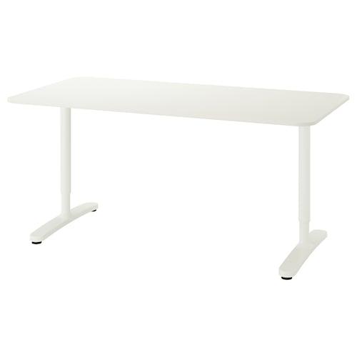 BEKANT desk white 160 cm 80 cm 65 cm 85 cm 100 kg