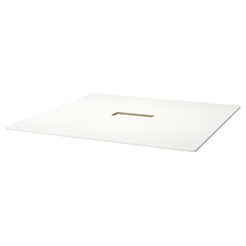 BEKANT table top white 140 cm 140 cm 1.6 cm