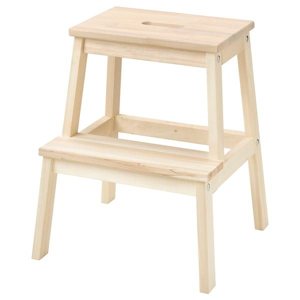 BEKVÄM step stool aspen 45 cm 39 cm 50 cm 100 kg
