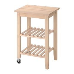 BEKVÄM kitchen trolley, birch