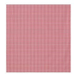 BERTA RUTA fabric, medium check big check red/white, red