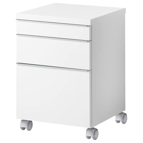 IKEA BESTÅ BURS Drawer unit on castors