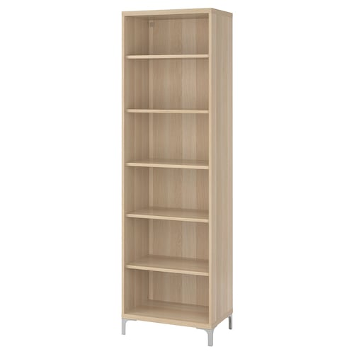 BESTÅ cabinet unit white stained oak effect 60 cm 40 cm 202 cm