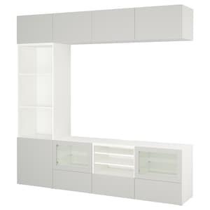 Colour: White lappviken/light grey clear glass.