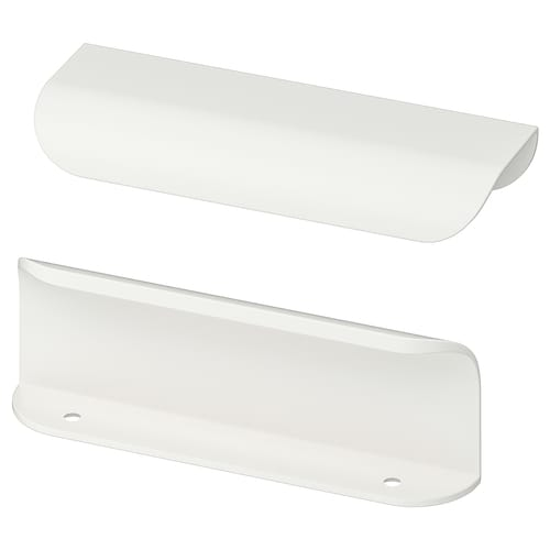 BILLSBRO handle white 120 mm 2 pack