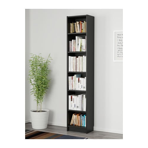 BILLY Bookcase IKEA Shallow shelves help you to use small wall spaces effectively by accommodating small items in a minimum of space.