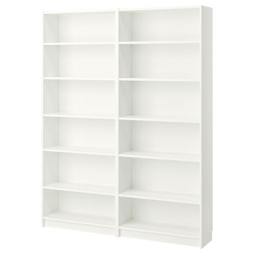 BILLY bookcase white 160 cm 28 cm 202 cm 30 kg