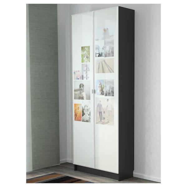 BILLY / MORLIDEN bookcase black-brown 80 cm 30 cm 202 cm 30 kg