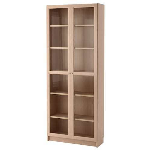 IKEA BILLY / OXBERG Bookcase with glass door