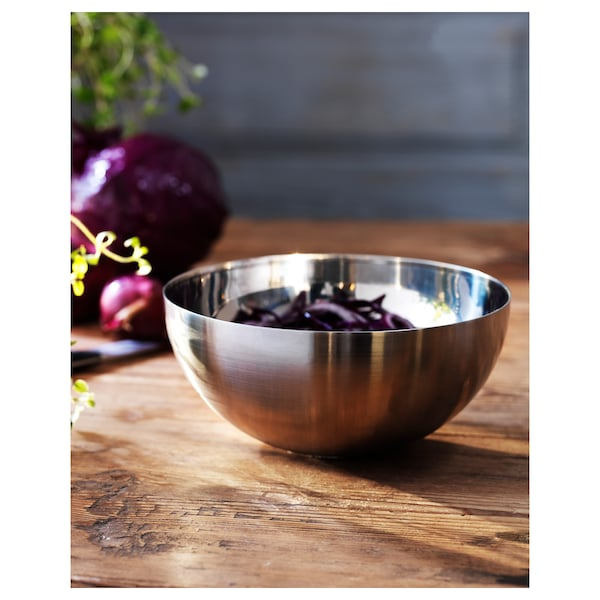 BLANDA BLANK Serving bowl, stainless steel, 12 cm