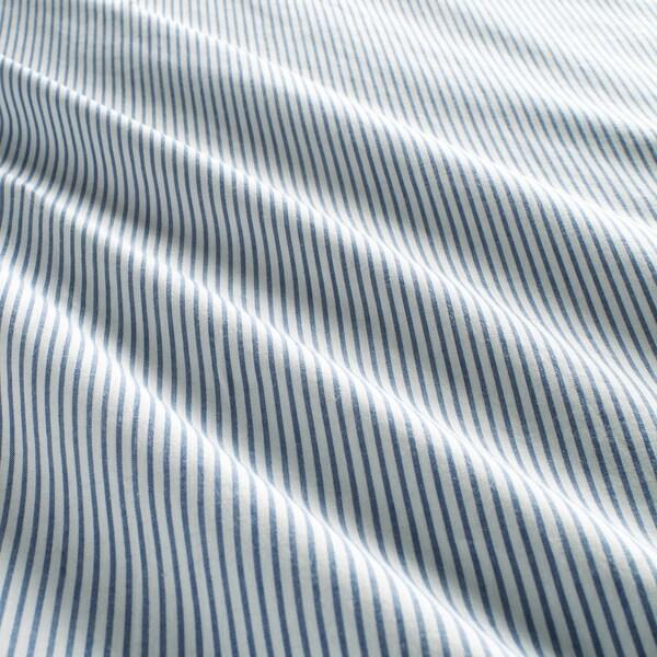 BLÅVINDA Quilt cover and 2 pillowcases, light blue, 240x220/50x80 cm