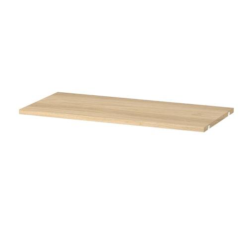 BOAXEL shelf oak effect 80 cm 40 cm 32 kg