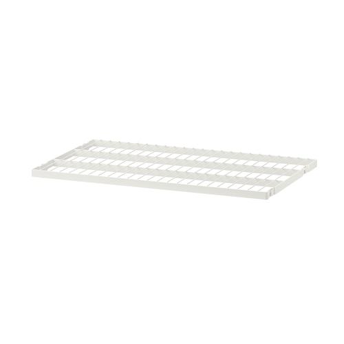 BOAXEL wire shelf white 59.7 cm 60 cm 38.4 cm 40 cm 24 kg