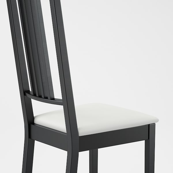 BÖRJE chair brown-black/Gobo white 110 kg 44 cm 55 cm 100 cm 37 cm 41 cm 47 cm