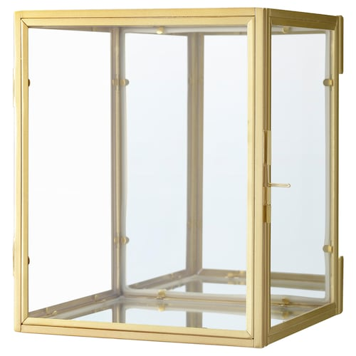 BOMARKEN display box gold-colour 17 cm 16 cm 20 cm 2.50 kg