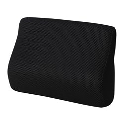 BORTBERG lumbar cushion, black