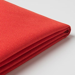 BRÅTHULT cover for 3-seat sofa, Vissle red-orange