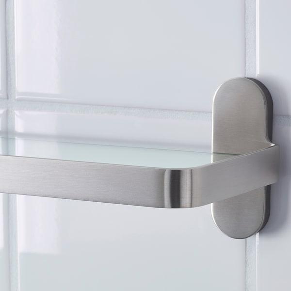 BROGRUND Glass shelf, 47x11 cm