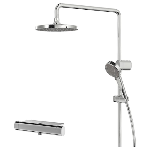IKEA BROGRUND Shower set with thermostatic mixer