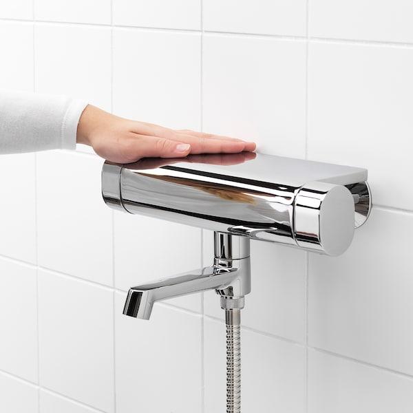 BROGRUND thermostatic bath/shower mixer chrome-plated 150 mm 300 mm 200 mm