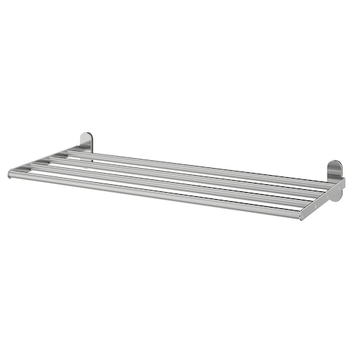 IKEA BROGRUND Wall shelf with towel rail