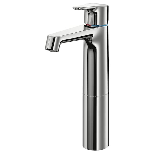 BROGRUND wash-basin mixer tap, tall chrome-plated 28 cm