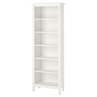 BRUSALI Bookcase, white, 67x190 cm