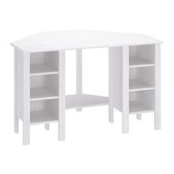 BRUSALI corner desk, white